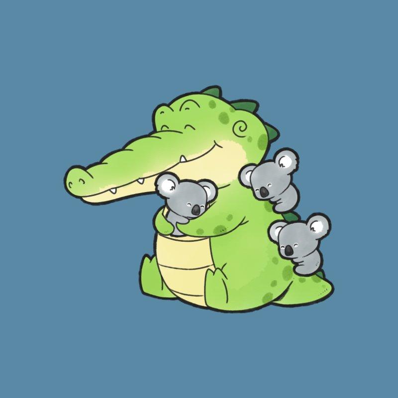 Buddy Gator - Hugs Kids T-Shirt by Buddy Gator's Artist Shop