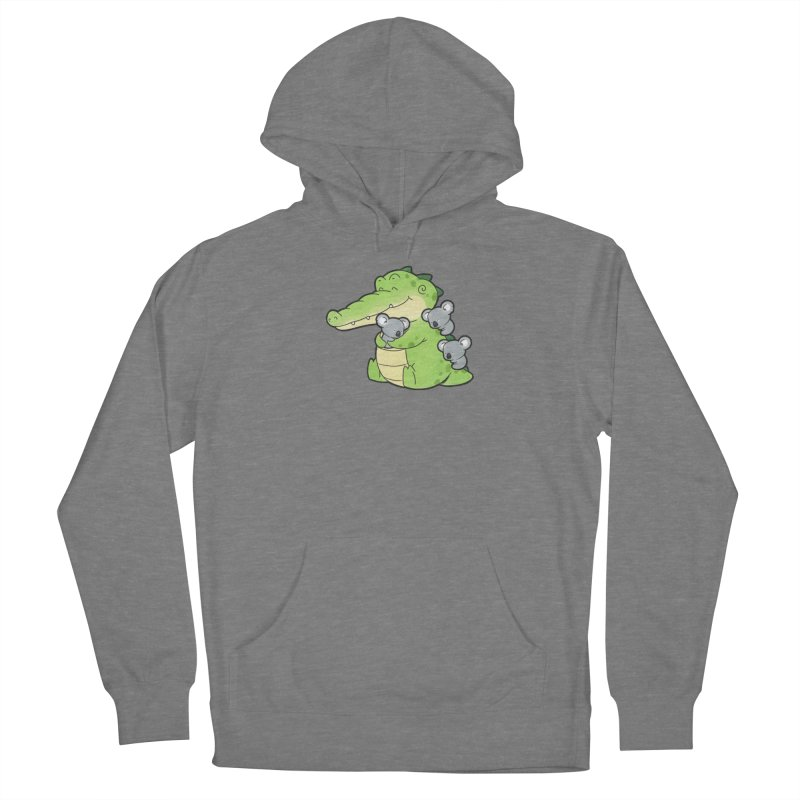 Buddy Gator - Hugs Women's Pullover Hoody by Buddy Gator's Artist Shop