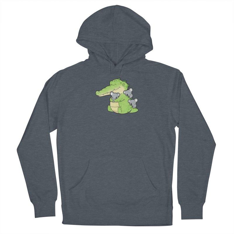 Buddy Gator - Hugs Women's Pullover Hoody by Buddy Gator's Artist Shop