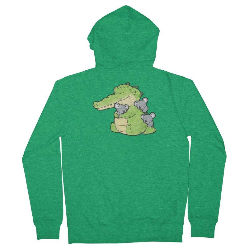 Buddy Gator - Hugs Women's Zip-Up Hoody by Buddy Gator's Artist Shop