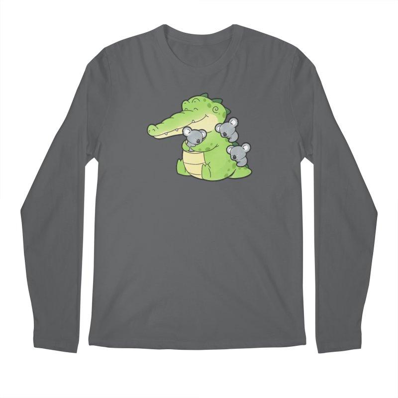 Buddy Gator - Hugs Men's Longsleeve T-Shirt by Buddy Gator's Artist Shop