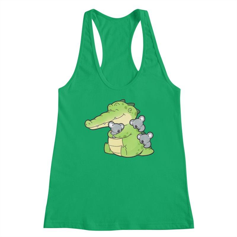 Buddy Gator - Hugs Women's Tank by Buddy Gator's Artist Shop