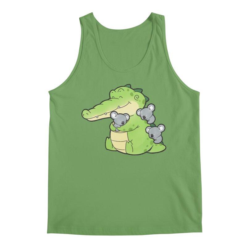 Buddy Gator - Hugs Men's Tank by Buddy Gator's Artist Shop
