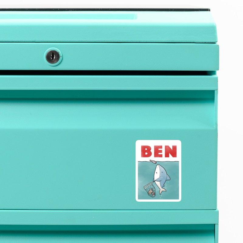 Buddy Gator - Ben Accessories Magnet by Buddy Gator's Artist Shop