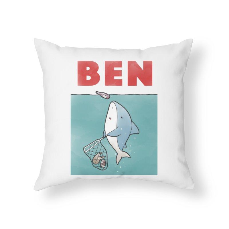Buddy Gator - Ben Home Throw Pillow by Buddy Gator's Artist Shop