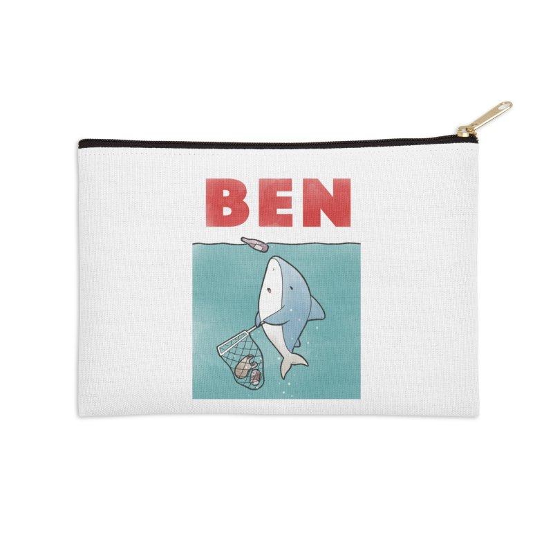 Buddy Gator - Ben Accessories Zip Pouch by Buddy Gator's Artist Shop