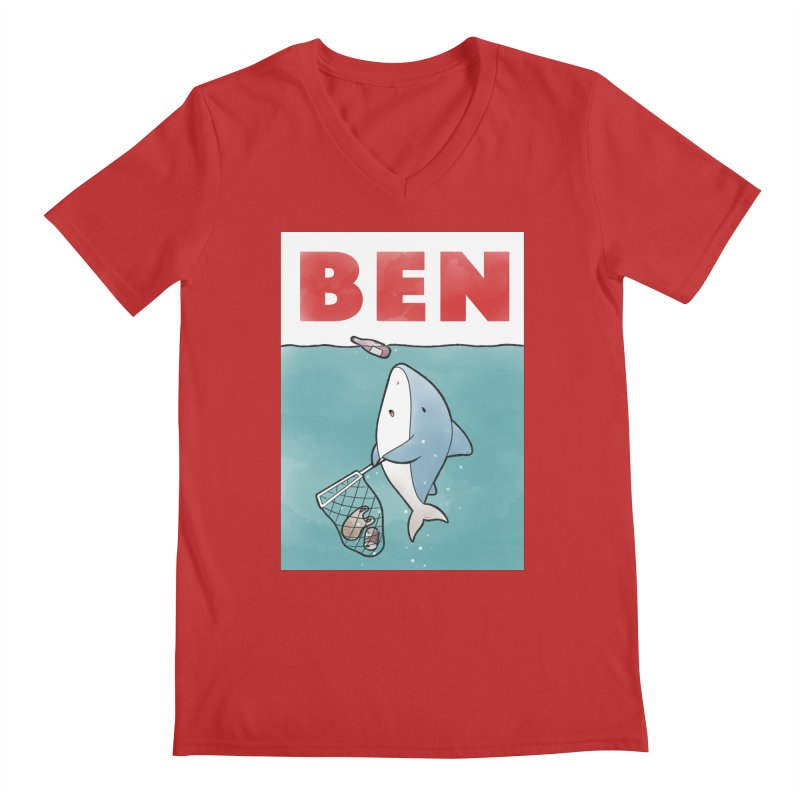 Buddy Gator - Ben Men's V-Neck by Buddy Gator's Artist Shop