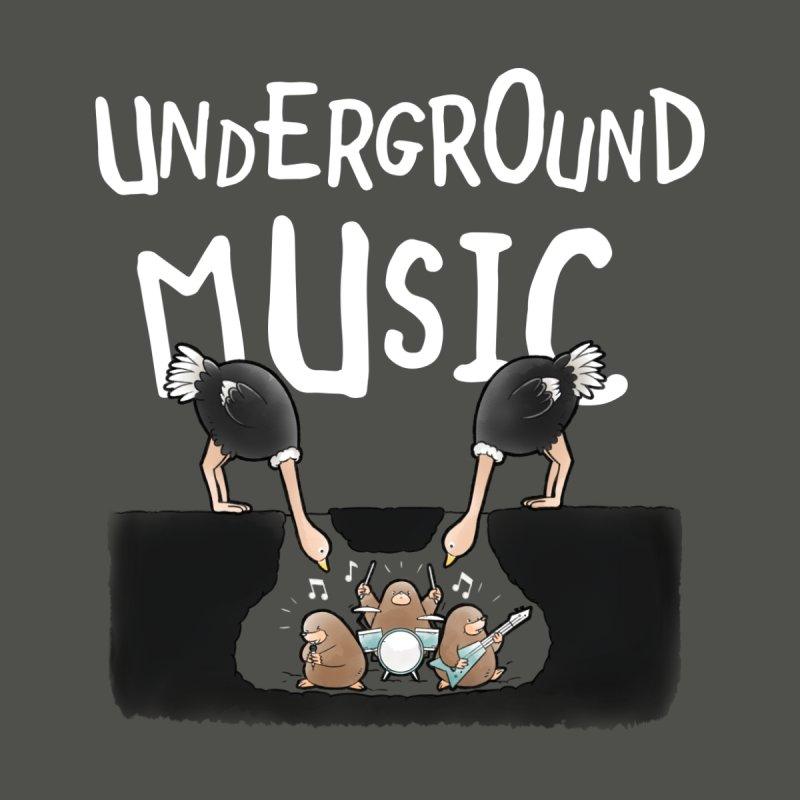 Buddy Gator - Underground Music Kids Baby Bodysuit by Buddy Gator's Artist Shop