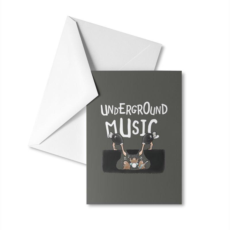 Buddy Gator - Underground Music Accessories Greeting Card by Buddy Gator's Artist Shop