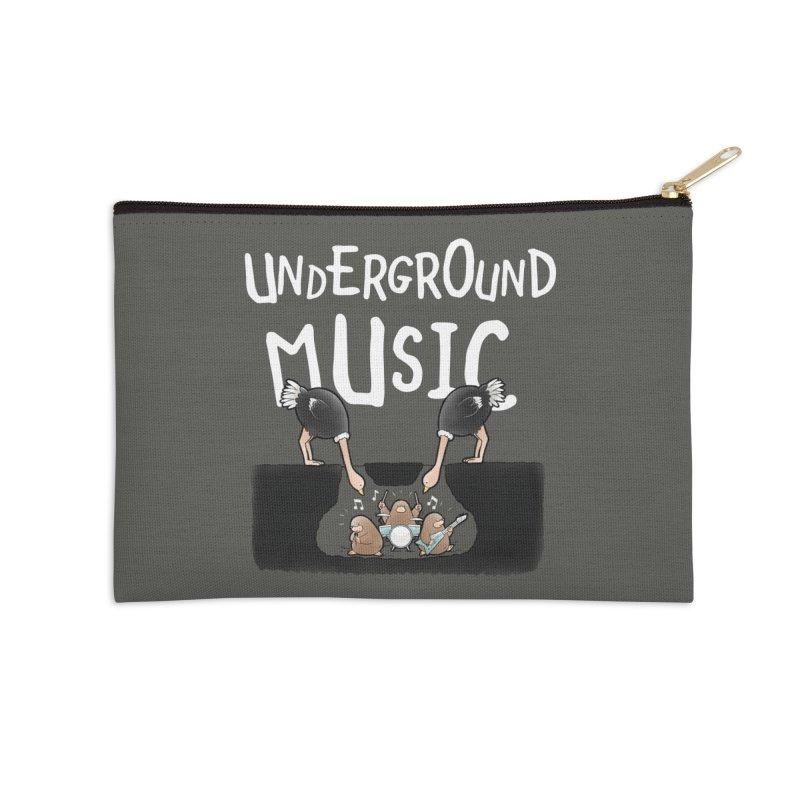 Buddy Gator - Underground Music Accessories Zip Pouch by Buddy Gator's Artist Shop