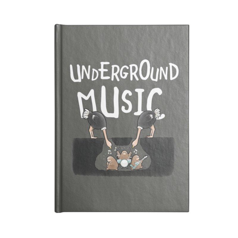 Buddy Gator - Underground Music Accessories Notebook by Buddy Gator's Artist Shop