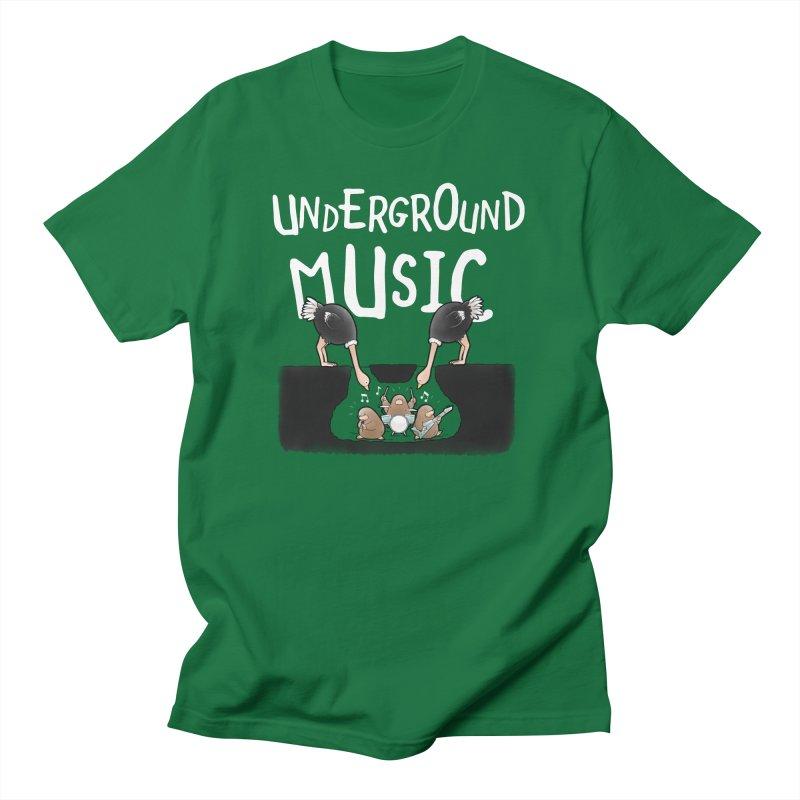 Buddy Gator - Underground Music Men's T-Shirt by Buddy Gator's Artist Shop