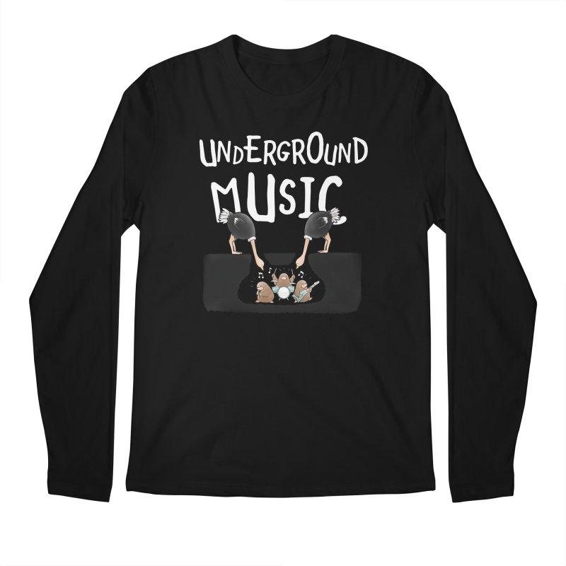 Buddy Gator - Underground Music Men's Longsleeve T-Shirt by Buddy Gator's Artist Shop
