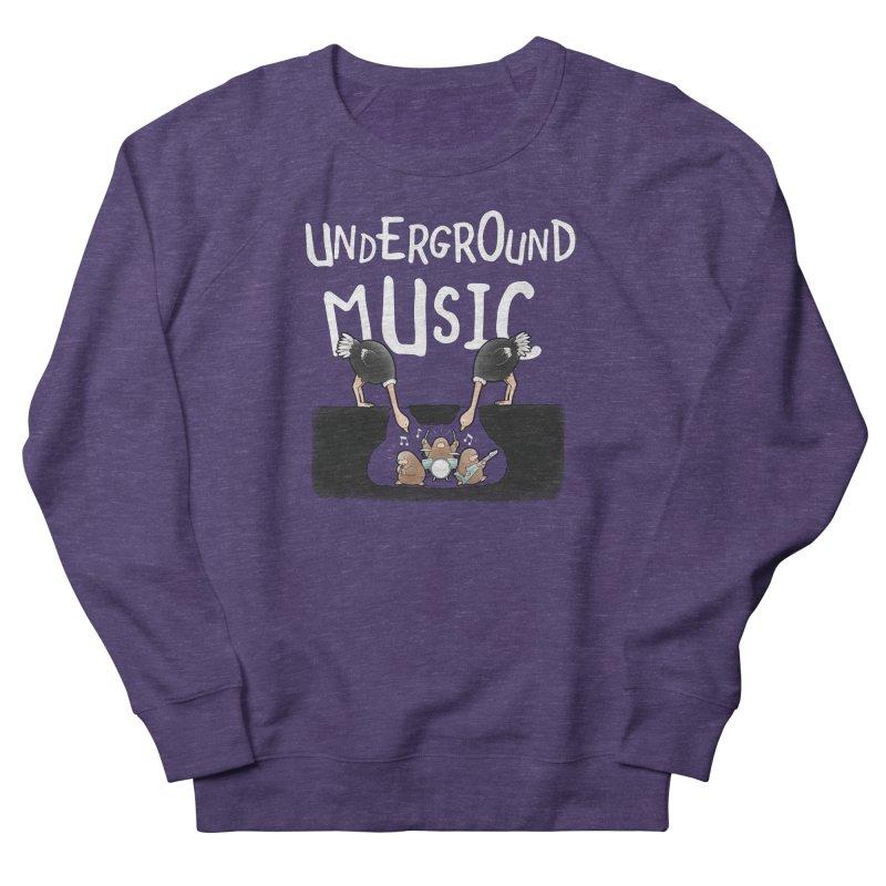 Buddy Gator - Underground Music Men's Sweatshirt by Buddy Gator's Artist Shop