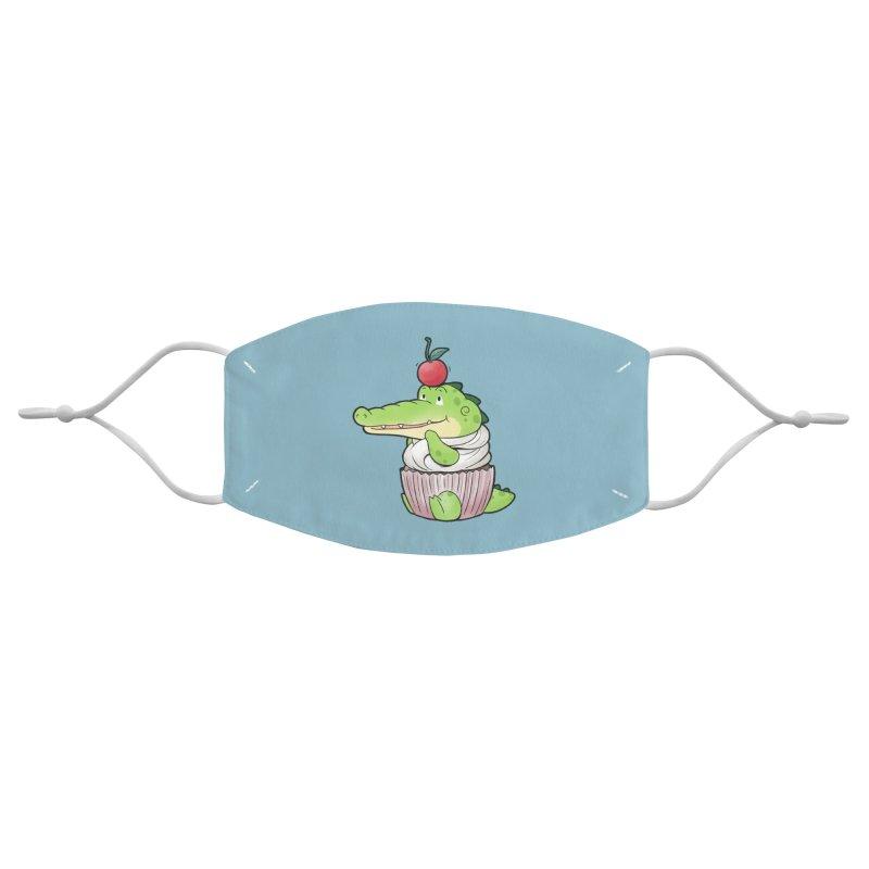 Buddy Gator - Cupcake Lover Accessories Face Mask by Buddy Gator's Artist Shop