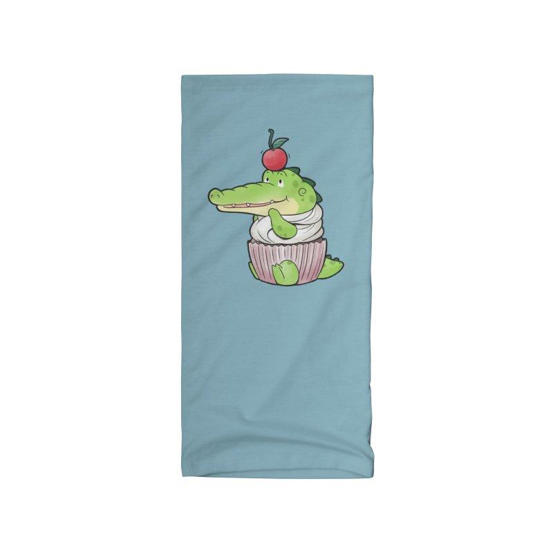 Buddy Gator - Cupcake Lover Accessories Neck Gaiter by Buddy Gator's Artist Shop