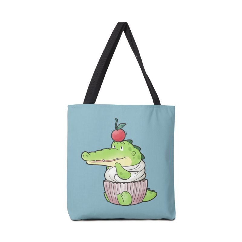 Buddy Gator - Cupcake Lover Accessories Bag by Buddy Gator's Artist Shop