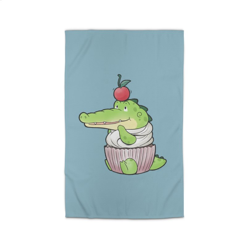 Buddy Gator - Cupcake Lover Home Rug by Buddy Gator's Artist Shop
