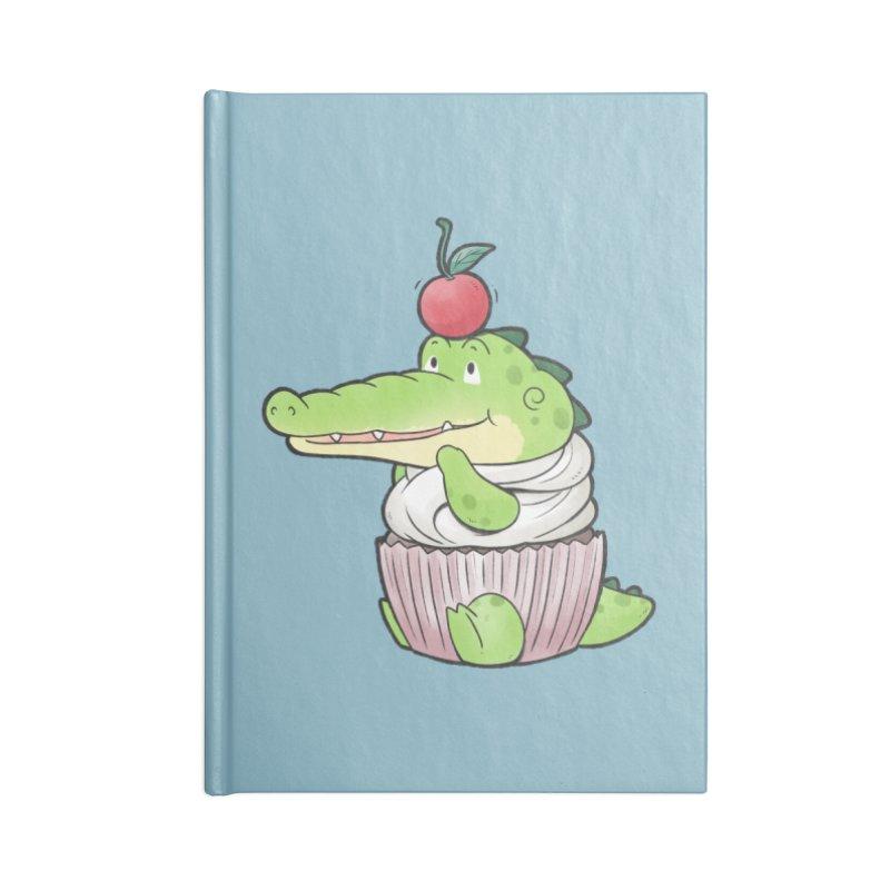 Buddy Gator - Cupcake Lover Accessories Notebook by Buddy Gator's Artist Shop