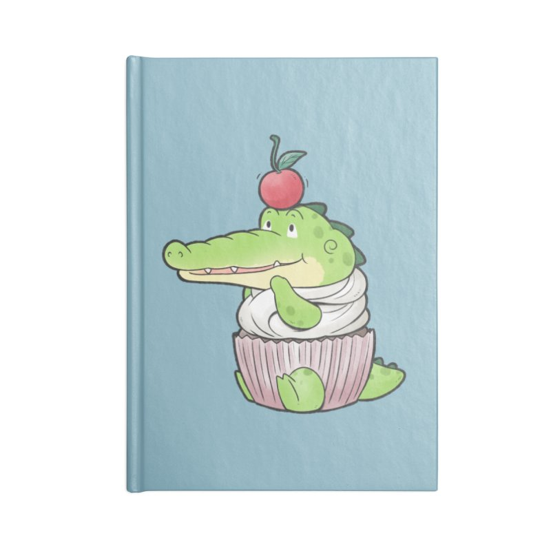 Buddy Gator - Cupcake Lover Accessories Notebook by Buddy Gator's Artist Shop