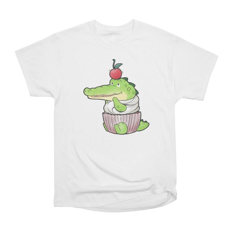 Buddy Gator - Cupcake Lover Women's T-Shirt by Buddy Gator's Artist Shop