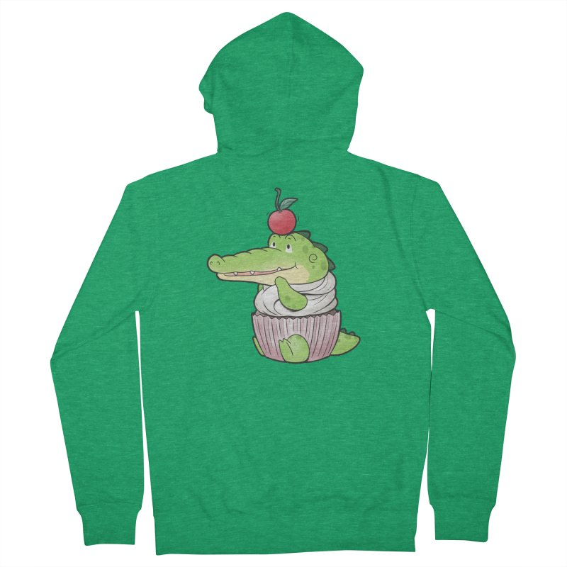 Buddy Gator - Cupcake Lover Men's Zip-Up Hoody by Buddy Gator's Artist Shop