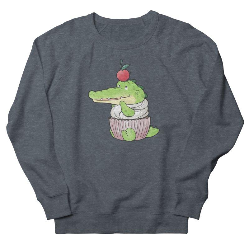 Buddy Gator - Cupcake Lover Men's Sweatshirt by Buddy Gator's Artist Shop