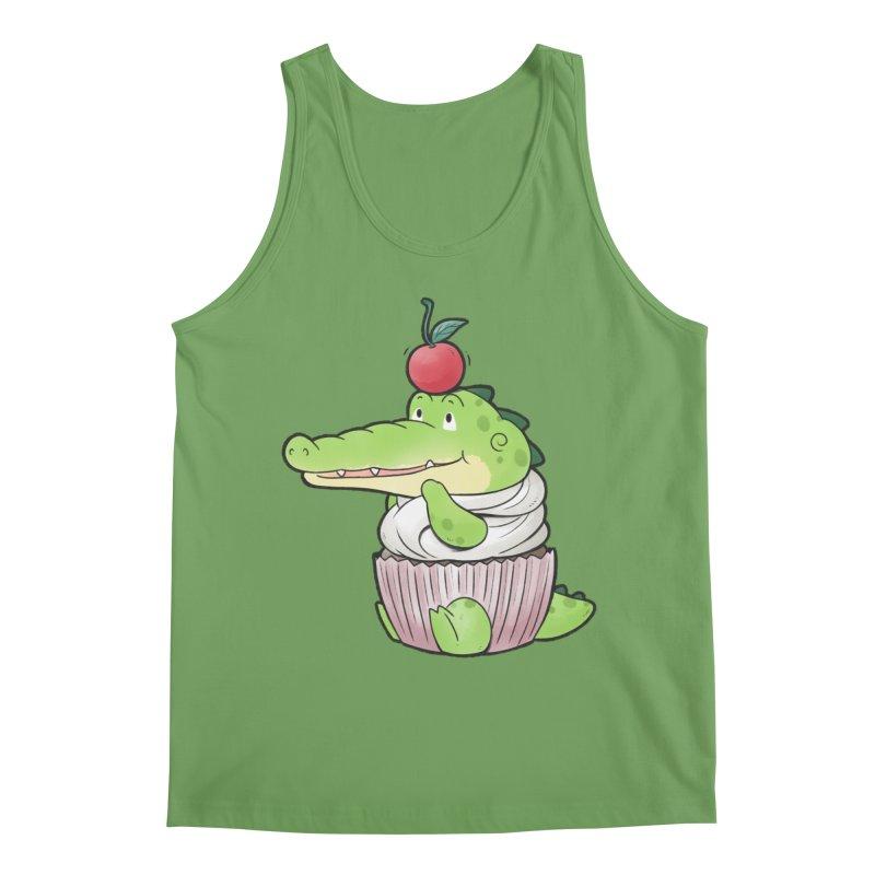 Buddy Gator - Cupcake Lover Men's Tank by Buddy Gator's Artist Shop