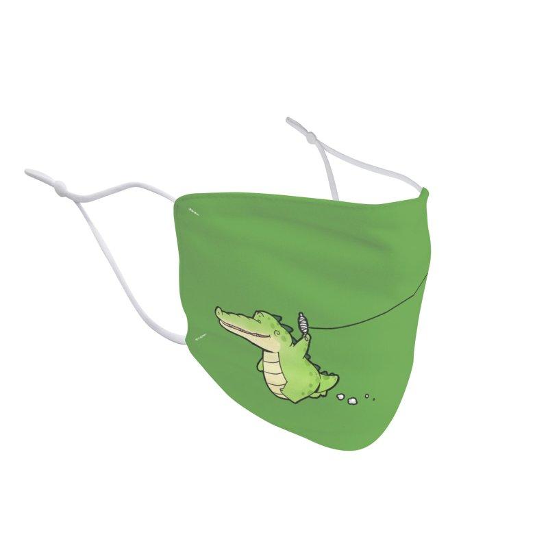 Buddy Gator - Again Accessories Face Mask by Buddy Gator's Artist Shop