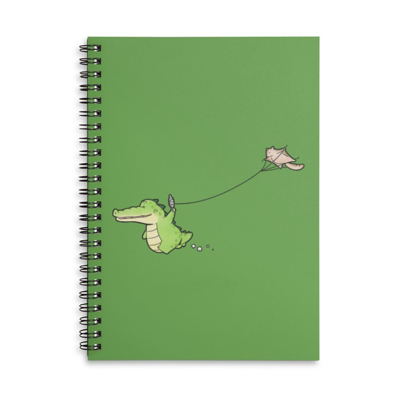 Buddy Gator - Again Accessories Notebook by Buddy Gator's Artist Shop