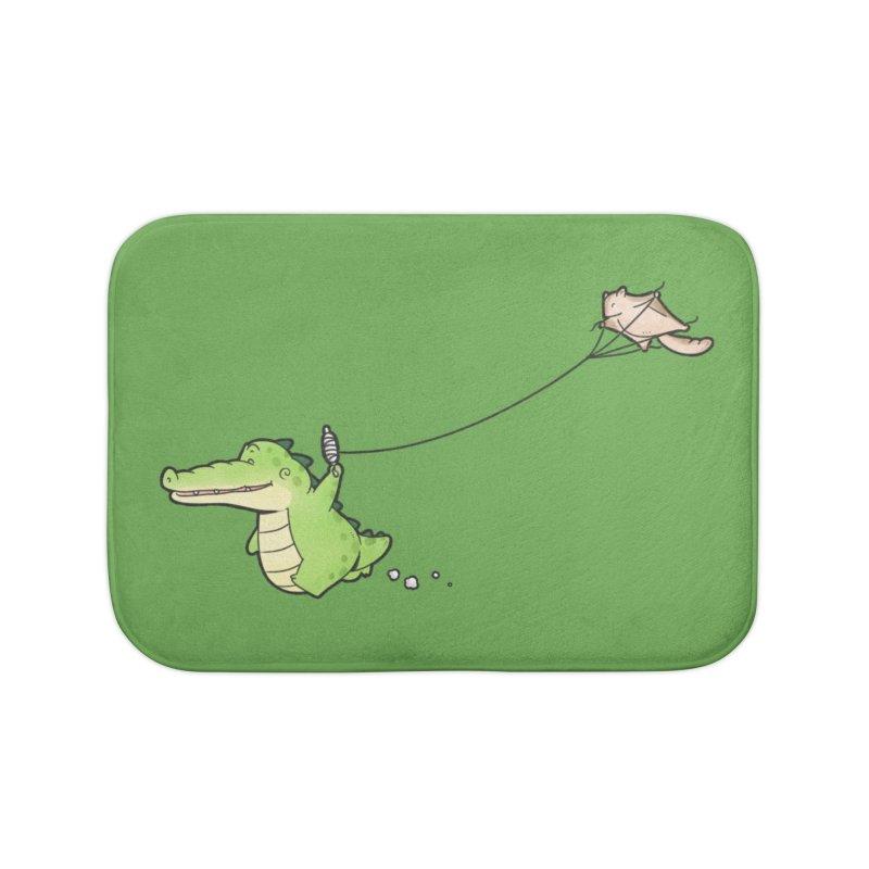 Buddy Gator - Again Home Bath Mat by Buddy Gator's Artist Shop