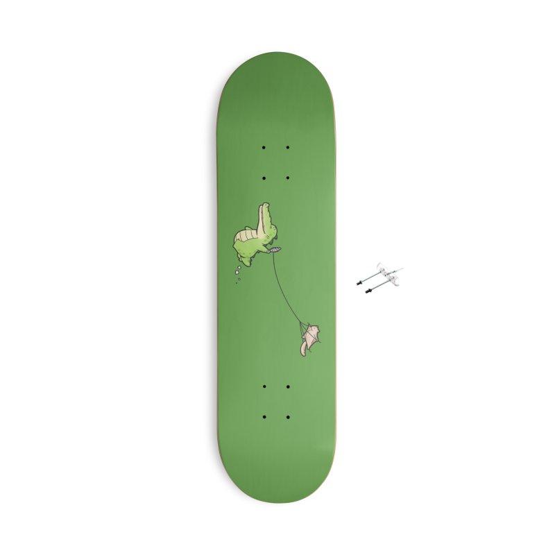 Buddy Gator - Again Accessories Skateboard by Buddy Gator's Artist Shop