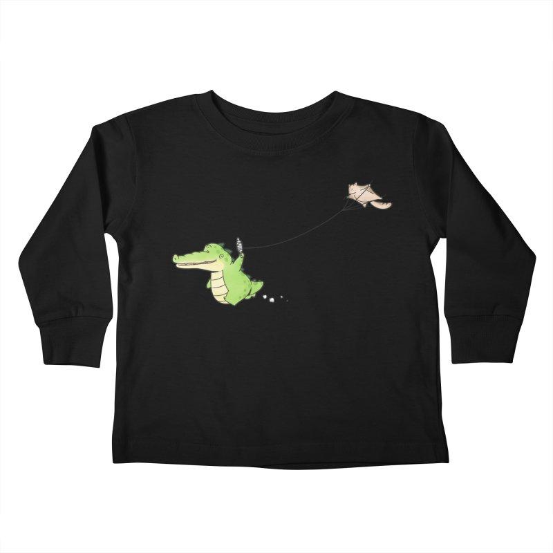 Buddy Gator - Again Kids Toddler Longsleeve T-Shirt by Buddy Gator's Artist Shop
