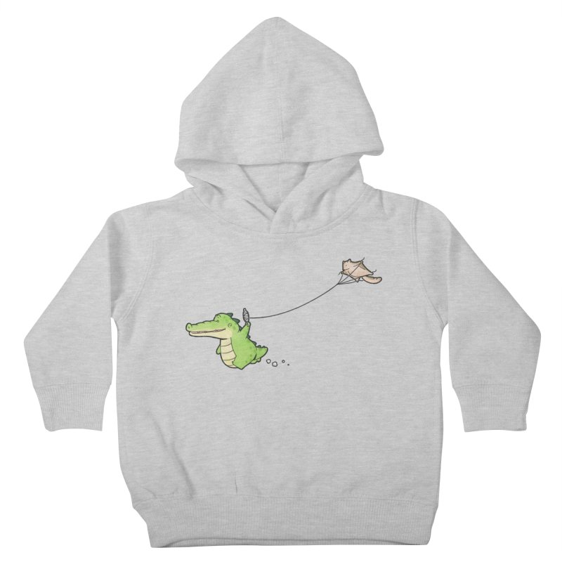 Buddy Gator - Again Kids Toddler Pullover Hoody by Buddy Gator's Artist Shop