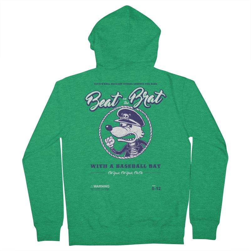 Beat on the Brat Men's Zip-Up Hoody by buddynishi's Artist Shop