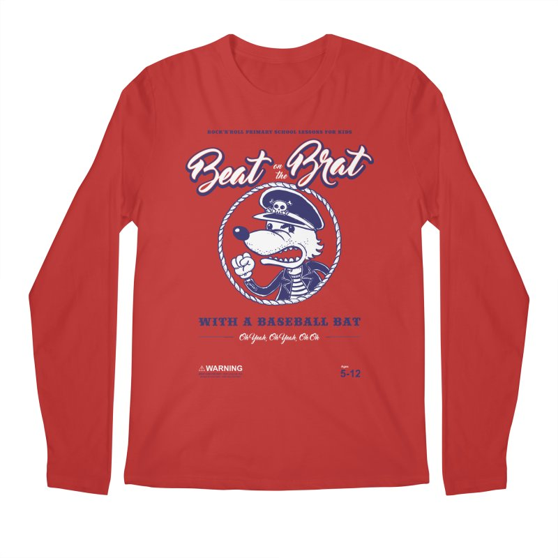 Beat on the Brat Men's Longsleeve T-Shirt by buddynishi's Artist Shop