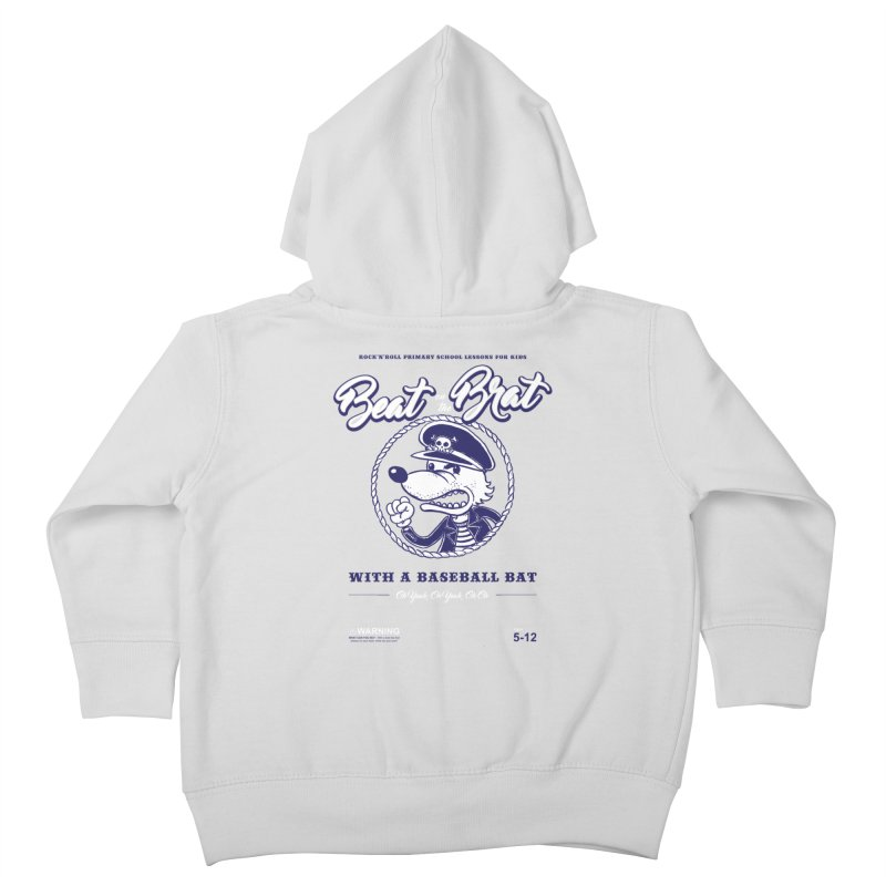 Beat on the Brat Kids Toddler Zip-Up Hoody by buddynishi's Artist Shop