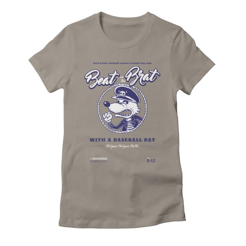 Beat on the Brat Women's Fitted T-Shirt by buddynishi's Artist Shop