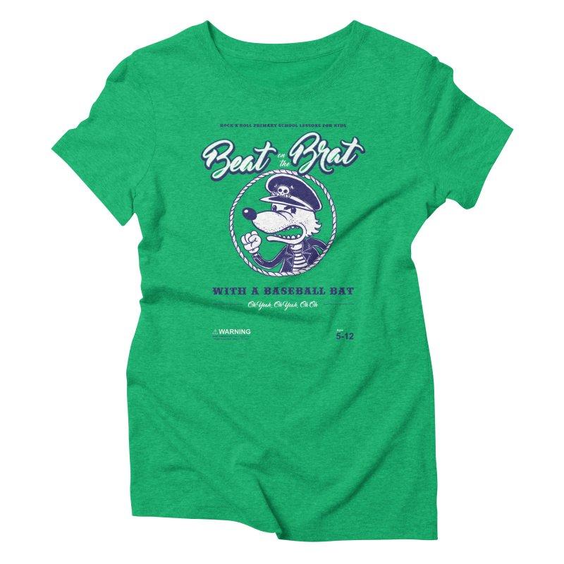 Beat on the Brat Women's Triblend T-Shirt by buddynishi's Artist Shop