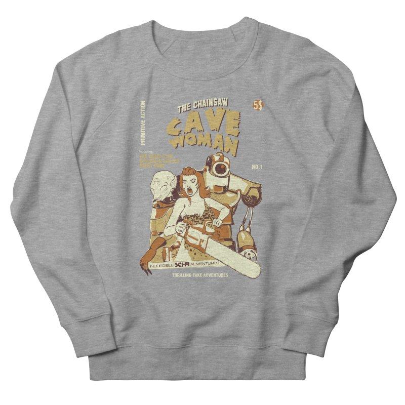 Chainsaw Cavewoman Women's Sweatshirt by buddynishi's Artist Shop