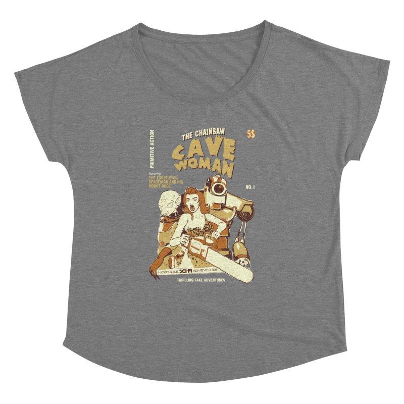 Chainsaw Cavewoman   by buddynishi's Artist Shop