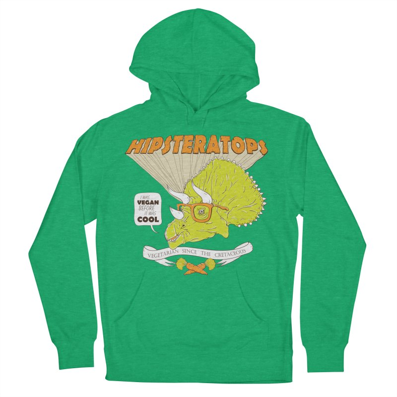 Hipsteratops Men's Pullover Hoody by buddynishi's Artist Shop