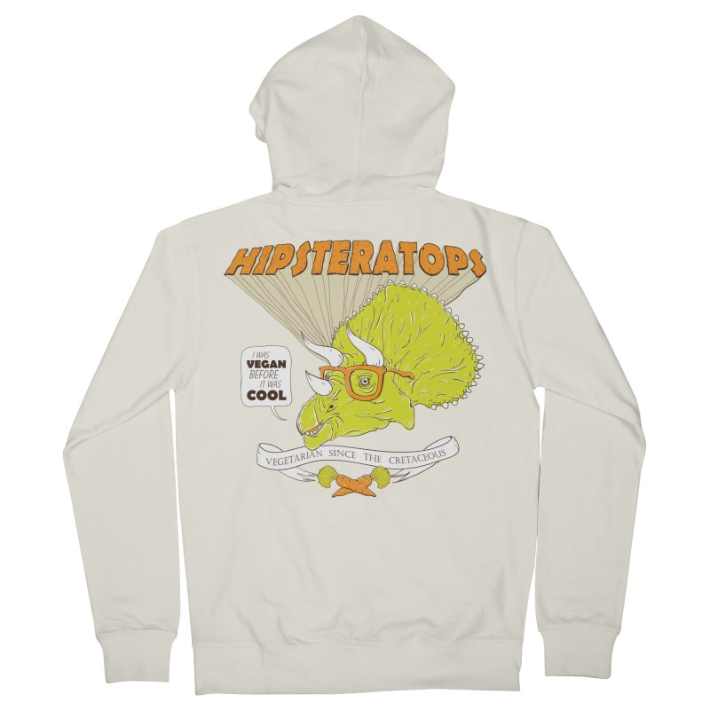 Hipsteratops Women's Zip-Up Hoody by buddynishi's Artist Shop