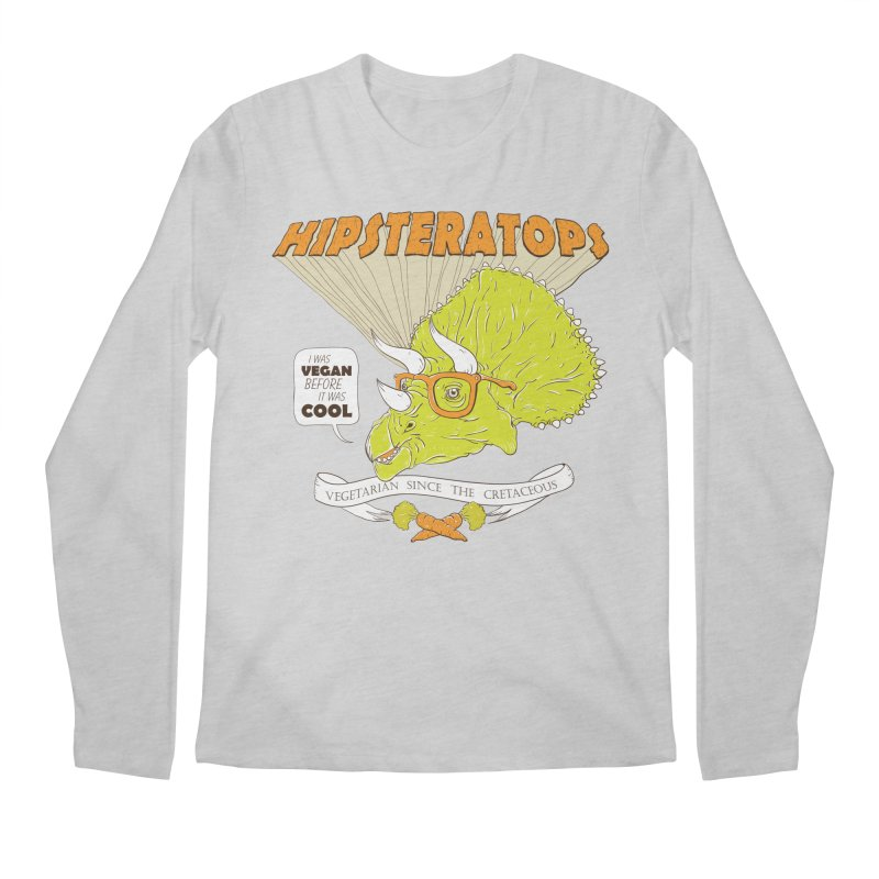 Hipsteratops Men's Longsleeve T-Shirt by buddynishi's Artist Shop