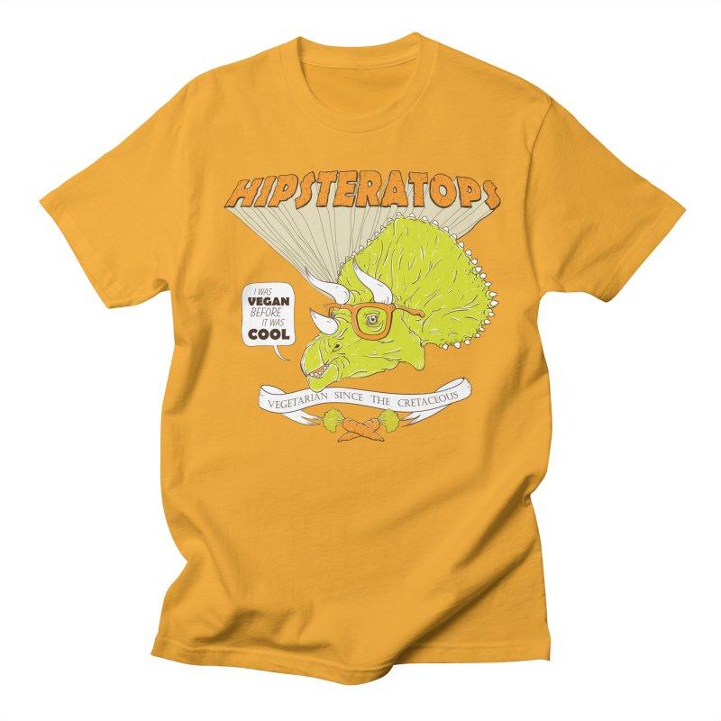 Hipsteratops Men's T-Shirt by buddynishi's Artist Shop