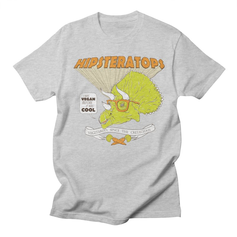 Hipsteratops Men's T-Shirt by buddynishi's Artist Shop