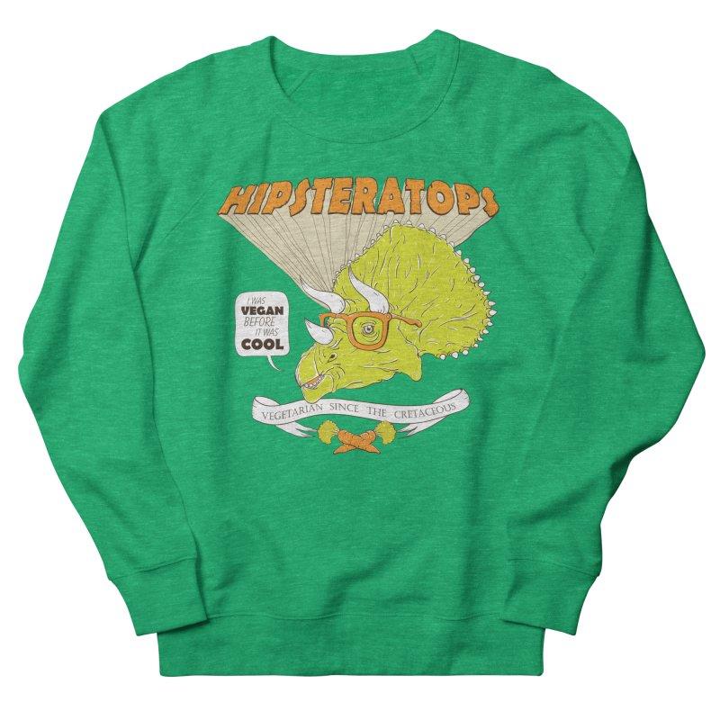 Hipsteratops Women's Sweatshirt by buddynishi's Artist Shop