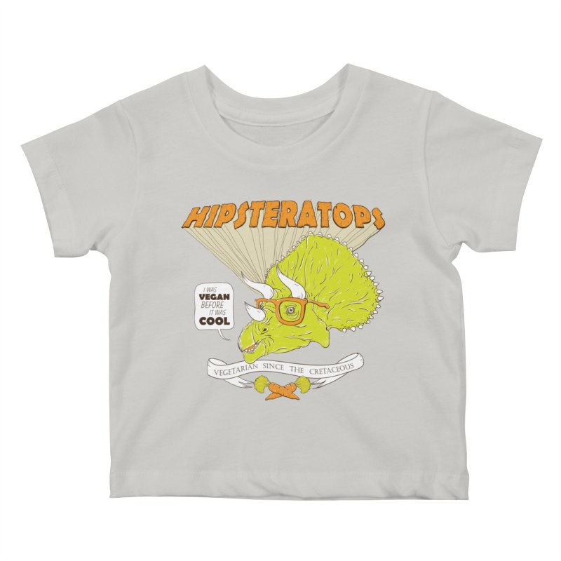Hipsteratops Kids Baby T-Shirt by buddynishi's Artist Shop