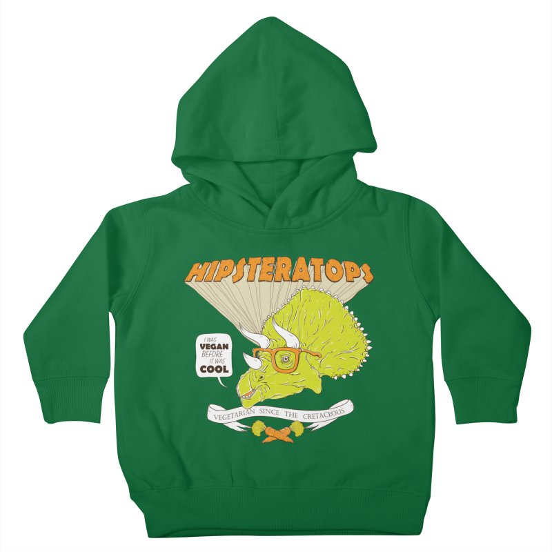 Hipsteratops Kids Toddler Pullover Hoody by buddynishi's Artist Shop