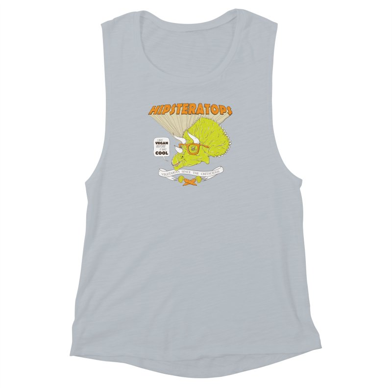 Hipsteratops Women's Muscle Tank by buddynishi's Artist Shop